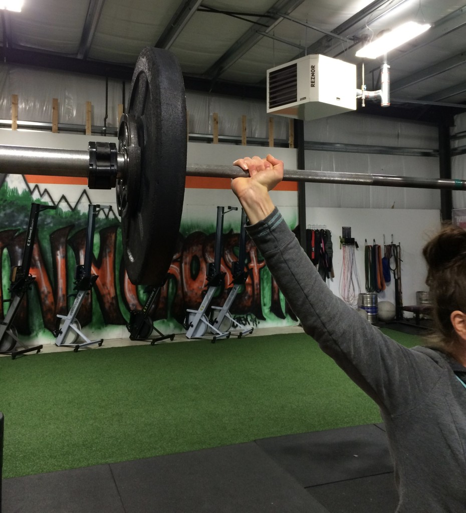 Wrists sore on Overhead squat & Snatch days? Lets talk about proper hand position...