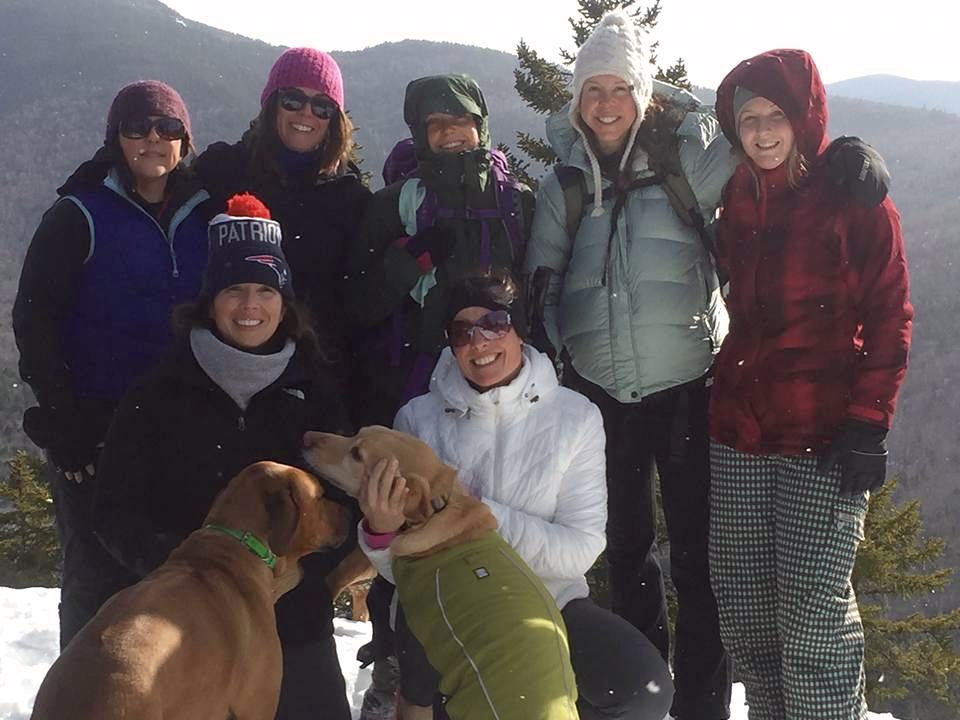 White Mountain CrossFitters Hanging out in the White Mountains