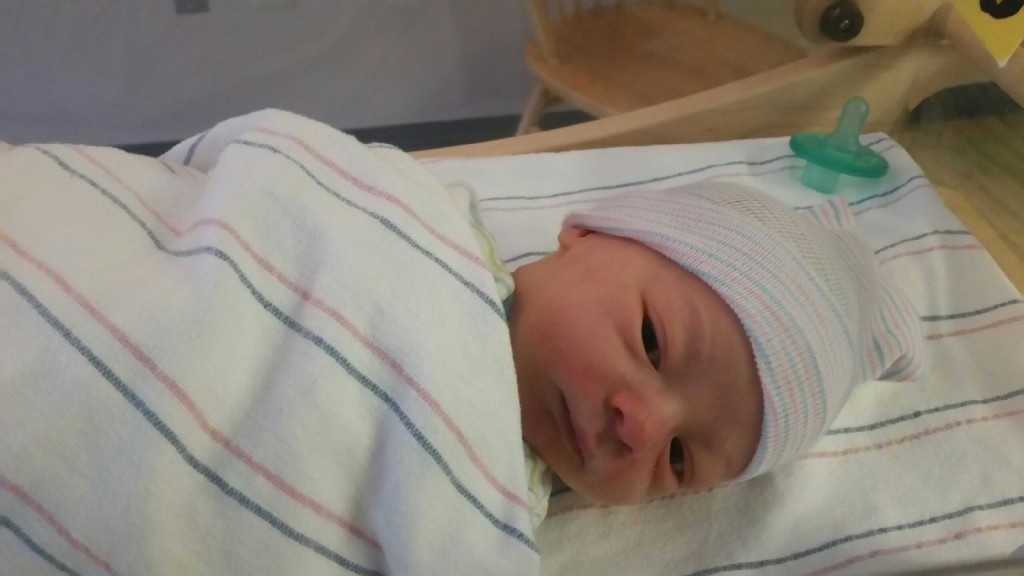 Congratulations Ron-imal on the addition to the family. Calvin Rydant Glad to hear mom & baby are doing well