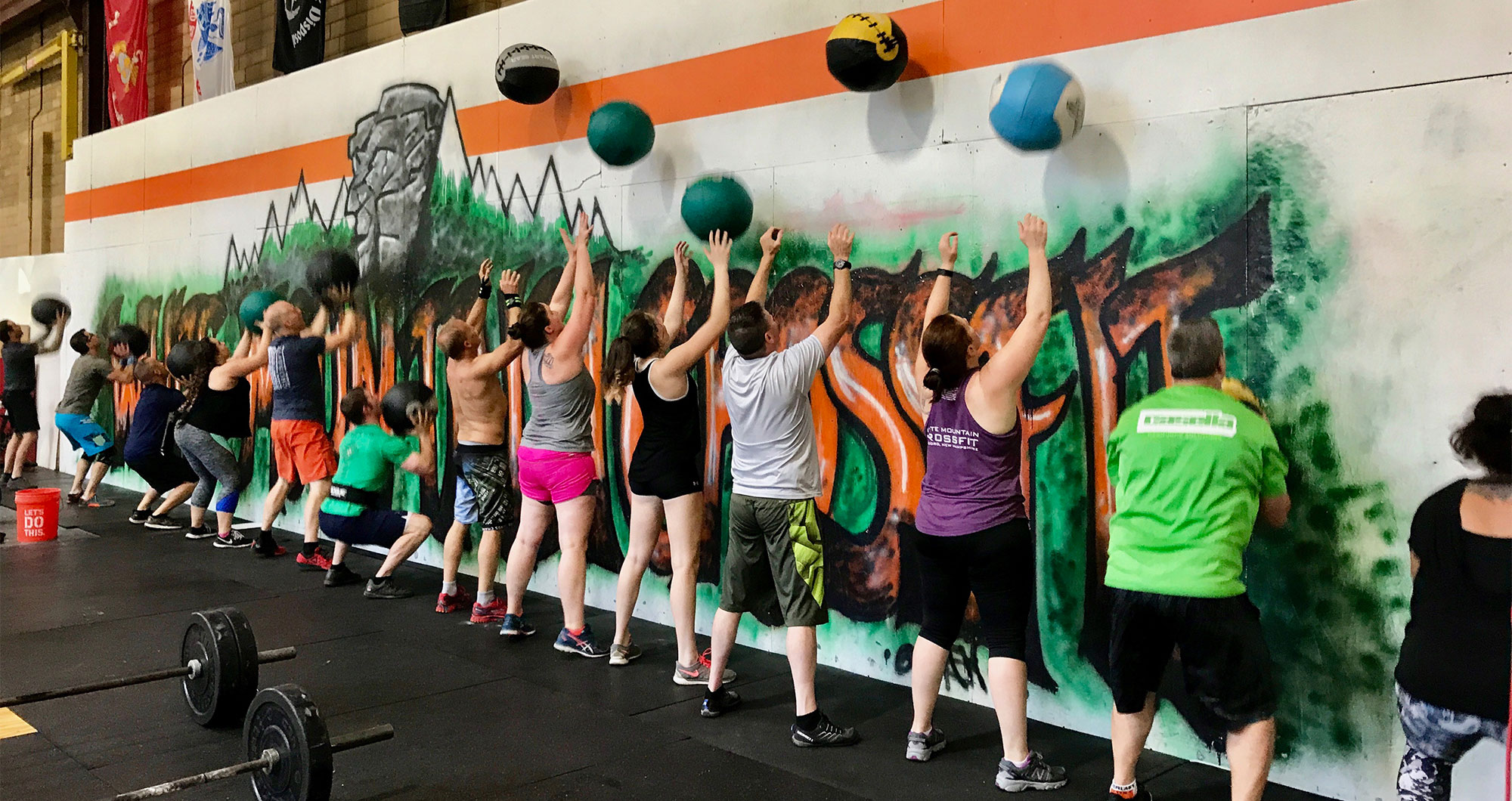 Schedules at <br>White Mountain Crossfit