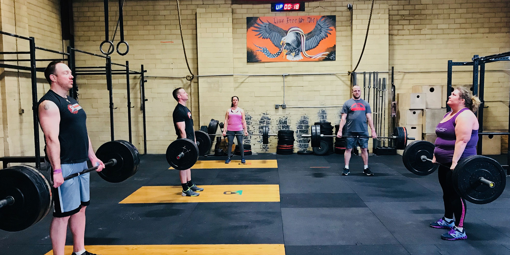 Why Choose <br>White Mountain Crossfit