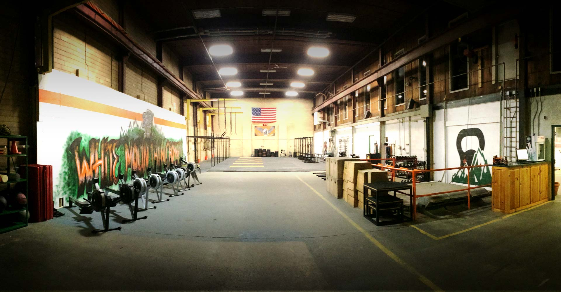 Our Gym <br>White Mountain Crossfit