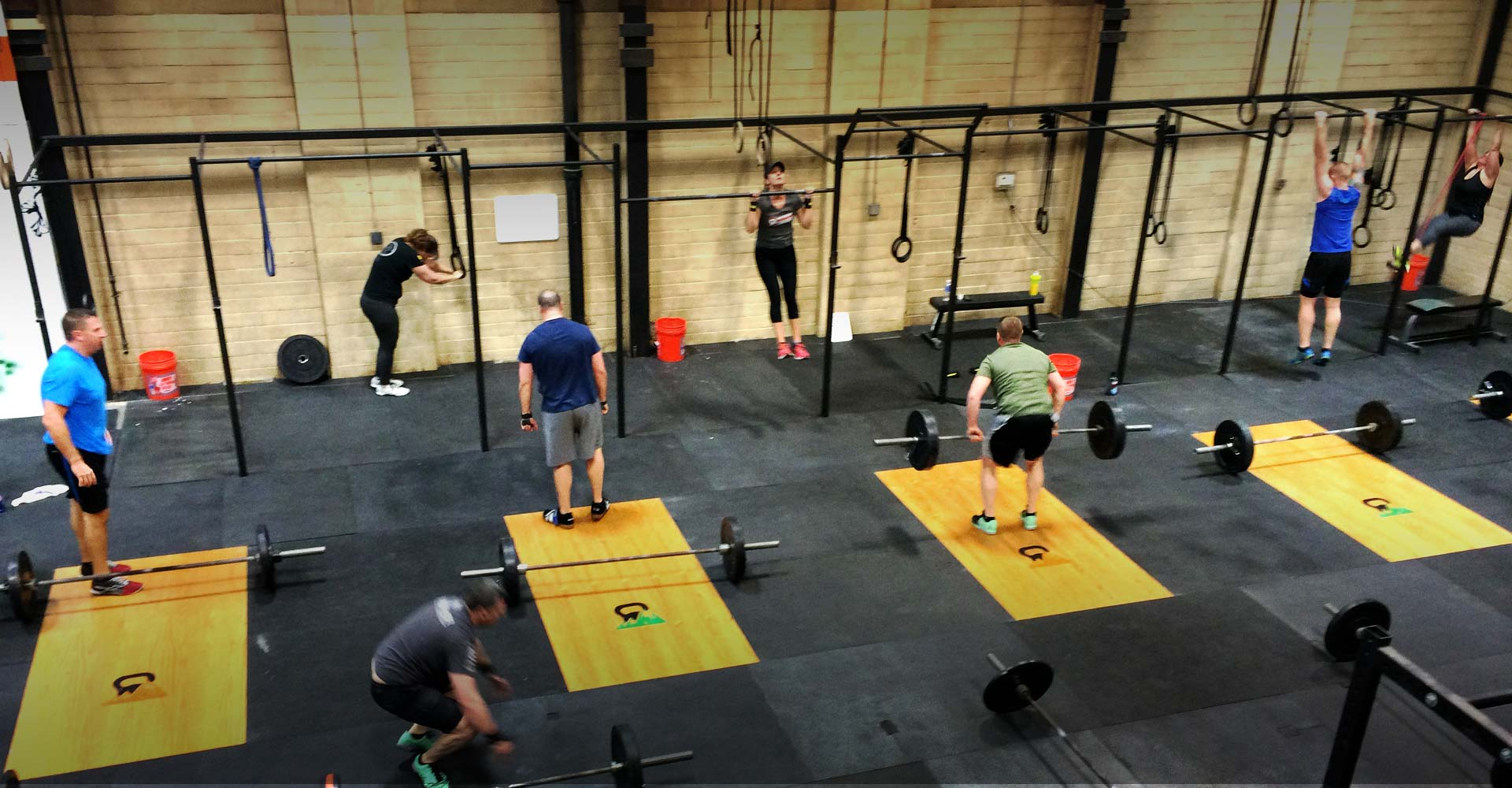 About <br>White Mountain Crossfit