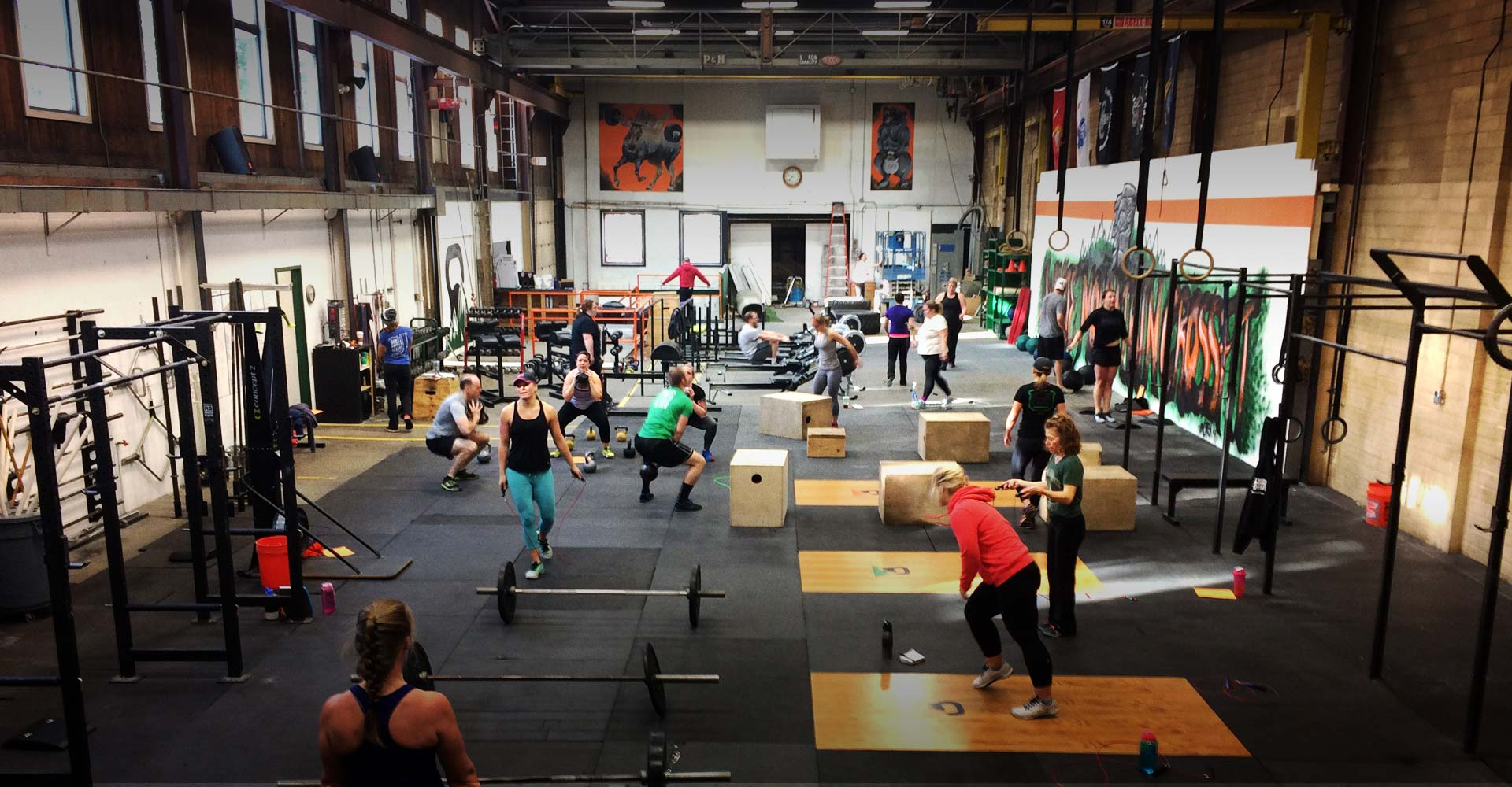 Contact <br>White Mountain Crossfit