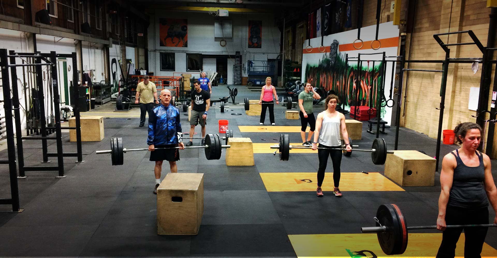 Our Programs at <br>White Mountain Crossfit