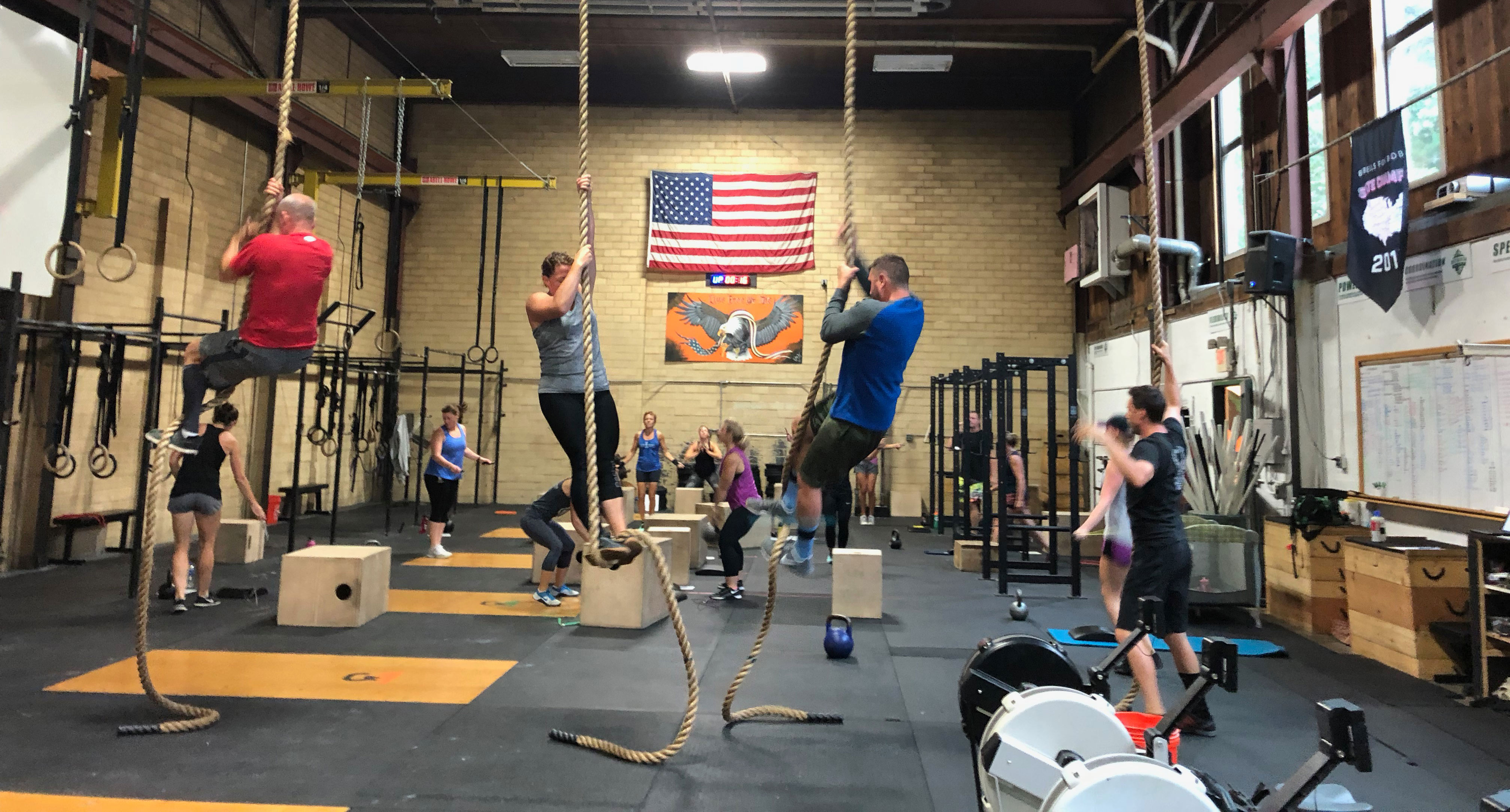 Daily WOD at <br>White Mountain Crossfit